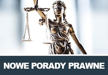 porady prawne pod panelem logowania - zalogowany