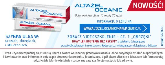 Banner Oceanic Altażel na stronie głównej