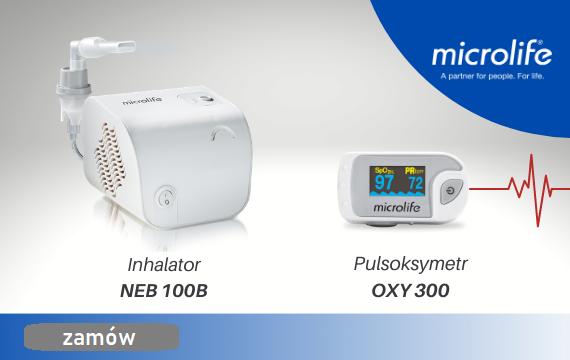 Pulsoksymetr Inhalator | Microlife | 570x360 | Ezamowienie